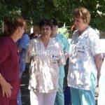 Лекарите в Монтана на протест