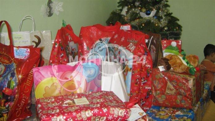 най-голямата Коледна кампания за подаряване на подаръци