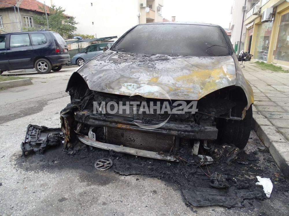 Запалиха автомобил във Вършец