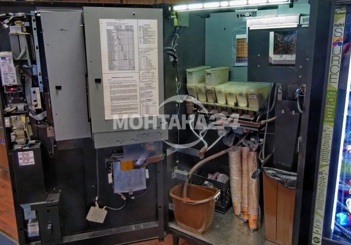 Кафе автомати бяха открити разбити в Лом