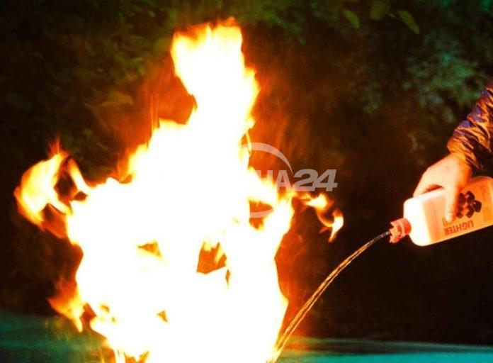 Полицията разследва пожар в с. Черкаски
