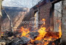 Огнен ад в Мадан! Жена е в критично състояние