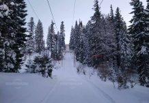 Подходящи условия за зимен туризъм на Ком