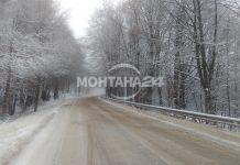 Затвориха Е 79 от Видин към Монтана заради снегонавявания