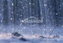 Облачно време с кратки превалявания