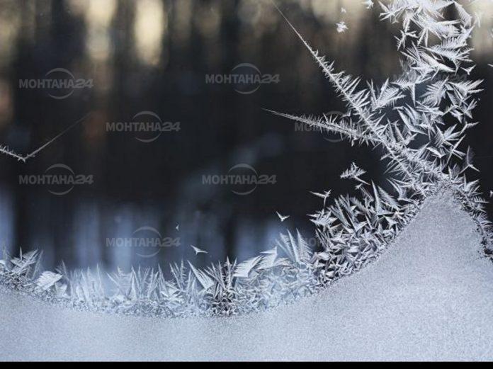 Опасно студено време в област Монтана