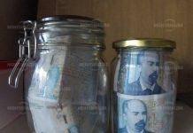 Лихвари от Лом крили пари в три литров буркан за туршия