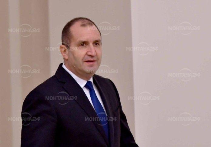 Президентът Румен Радев пристига в Монтана