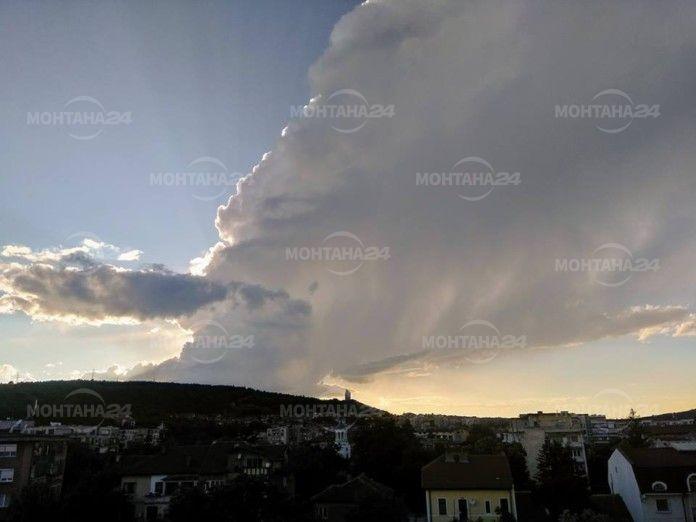 Слънце и облаци над Монтана и региона в петък