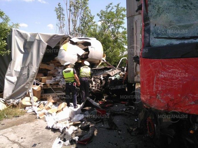 Черна статистика! 12 катастрофи по Е79 край Монтана от началото на годината