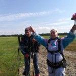 70-годишна жена от Вършец скочи с парашут
