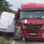 Две катастрофи затвориха Е79