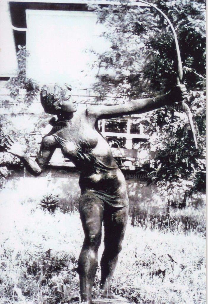 Започва възстановяването на скулптурата на Диана в Монтана