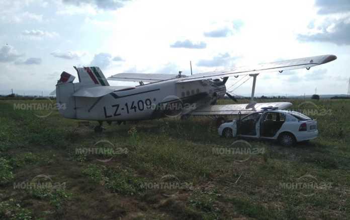 Самолет кацна аварийно край Брусарци