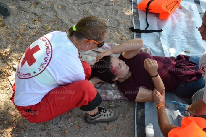Спасяват множество пострадали при учение на БЧК в Монтана