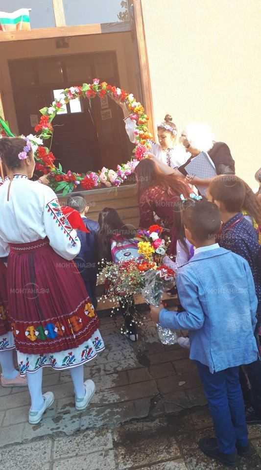 Кметът на Бойчиновци откри учебната година в три училища в общината