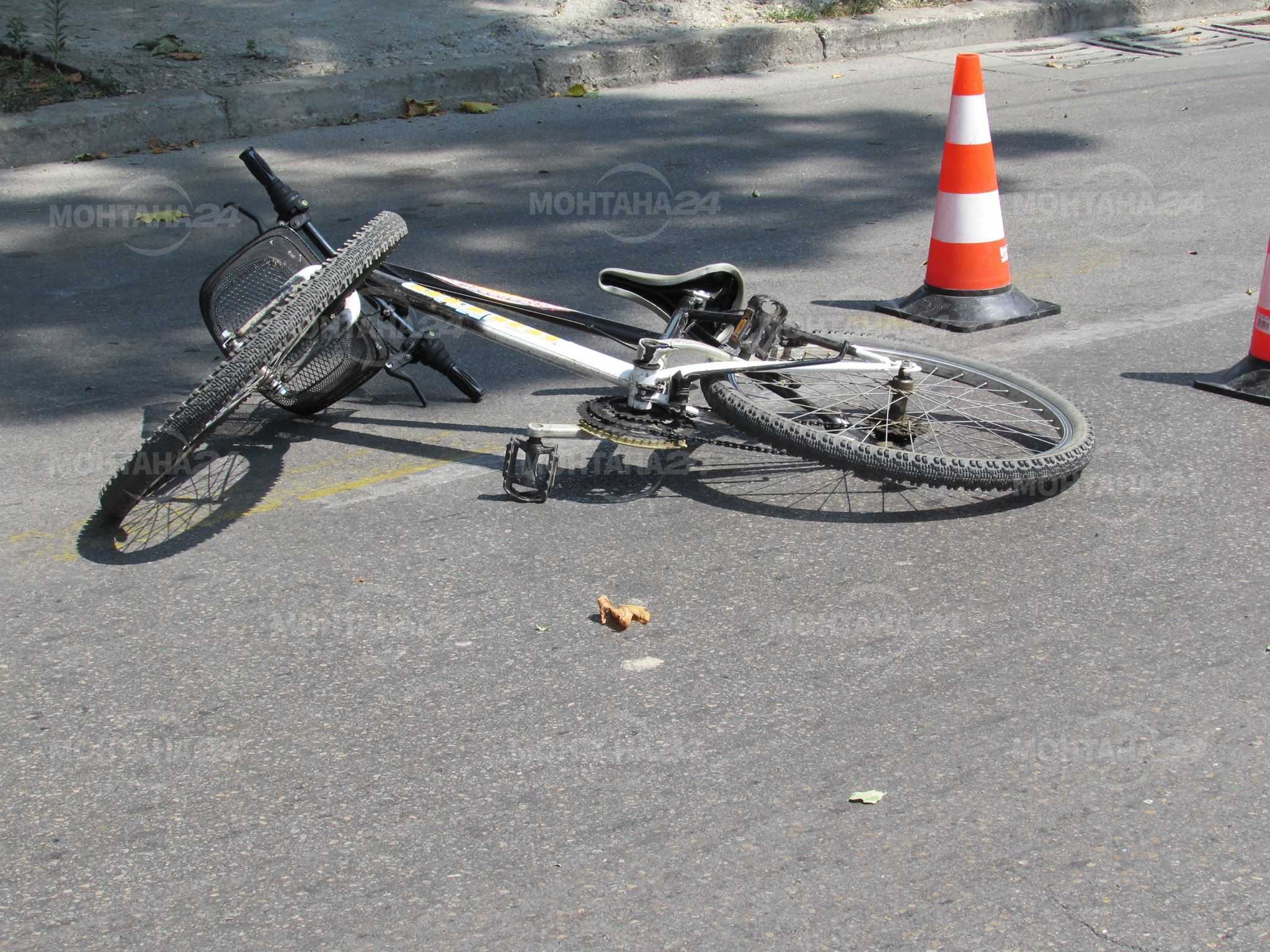 Велосипедист и моторист се сблъскаха в Лом