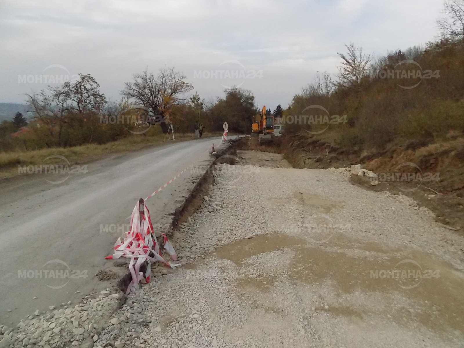 Ето докъде са стигнали ремонтите на пътищата в Лом