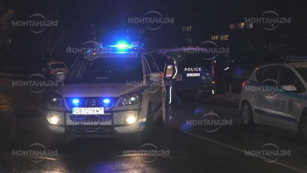 Заради не извадено заявление за протест от протестиращите, полицията не им даде на тръгнат към международния път Е79 и да го блокират.