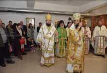 """Първа литургия се отслужи в храм """"Свети Дух"""""""