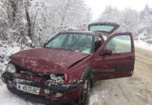 Още една катастрофа заради снега