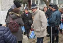 Пакети с хранителни продукти от първа необходимост получиха 84 души от община Монтана с ниски пенсии.