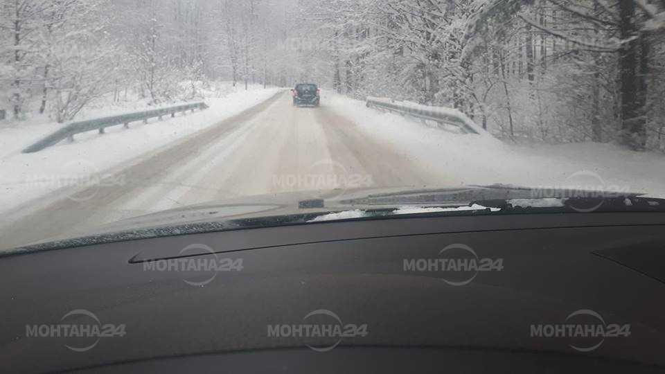 10 см е снежната покривка на прохода Петрохан