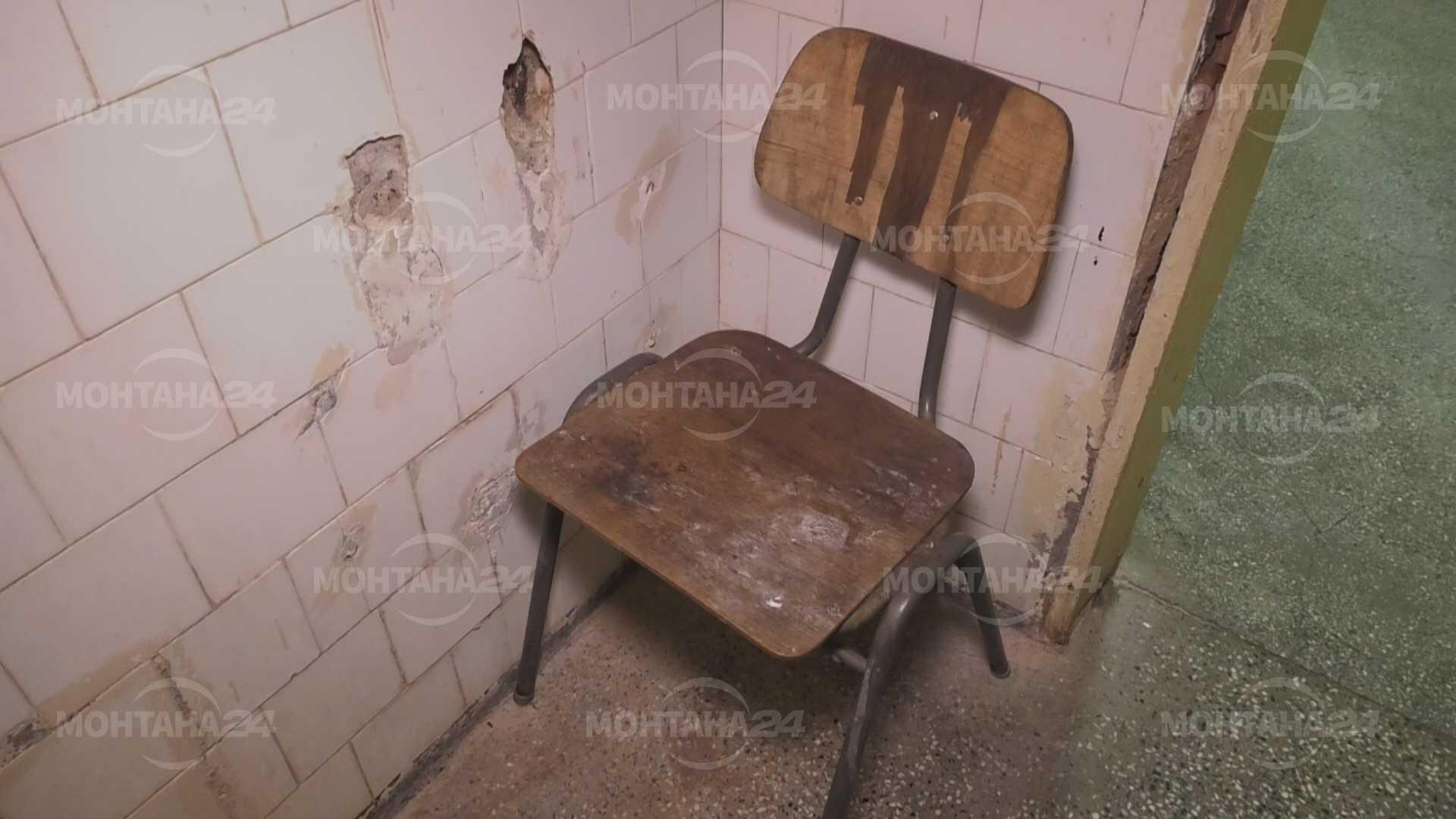 Мизерия в психиатричното отделение в болницата в Монтана