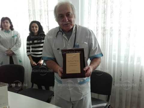 75-годишен юбилей отпразнува в болницата педиатъра д-р Първан Кръстев