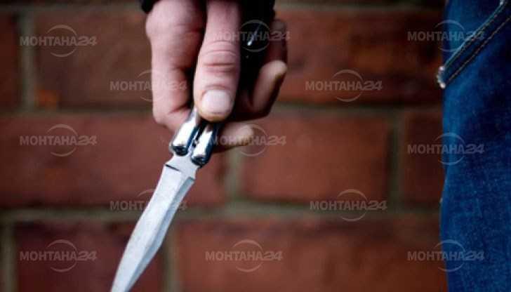 Задържаха мъж размахвал нож и отправил закана за убийство