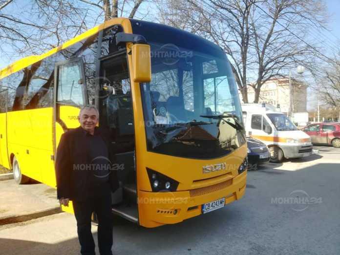 Нов автобус ще превозва учениците в Бойчиновци