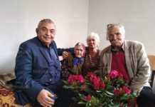 Столетница празнува в село Охрид