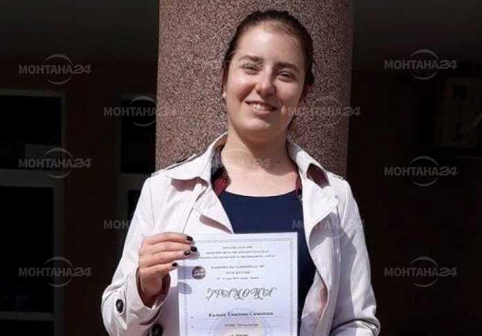 Изключително постижение за ученичка от езиковата гимназия