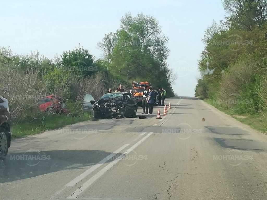 Първи снимки от тежката катастрофа край Благово