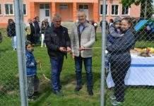 Децата от село Вирове имат нова футболна площадка