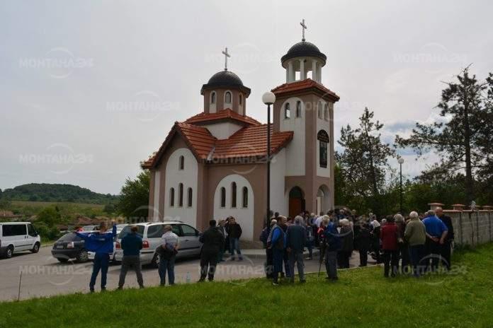 Монтанско село вече си има църква