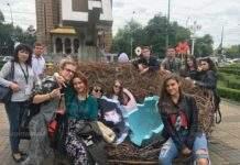 Ученици от езиковата гимназия представиха България на езиков фестивал