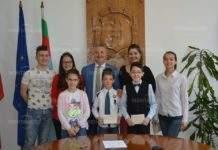 Кметът Монтана отличи учители и талантливи деца за 24 май