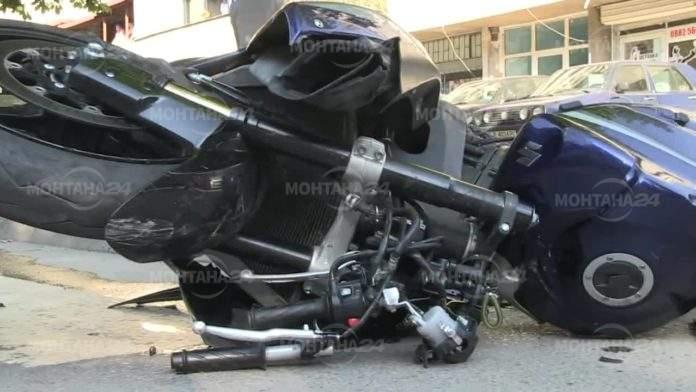 Мотоциклетист катастрофира пиян в Лом