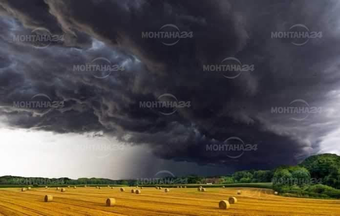 Облаци и дъжд в края на седмицата
