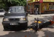 Мотоциклетиста остава в болница след вчерашната катастрофа