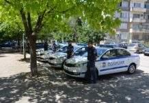 Четири нови автомобила бяха връчени днес на Районното уравление в Лом