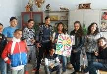 Ученици оцветиха чорапите си, за да подкрепят децата със синдром на Даун