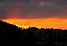 Снимка на деня: Залез над Монтана