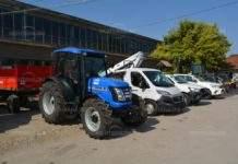 Община Монтана получи 7 машини за рискови ситуации