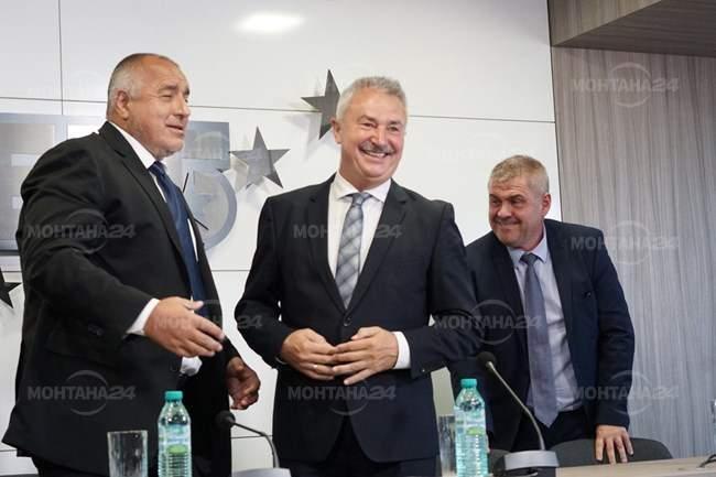 ГЕРБ подкрепя Златко Живков за шести мандат
