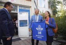 Златко Живков посрещна евродепутата Ева Майдел в Монтана