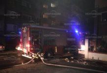 Огнено отмъщение в Лом! Запалиха автомобил в гараж