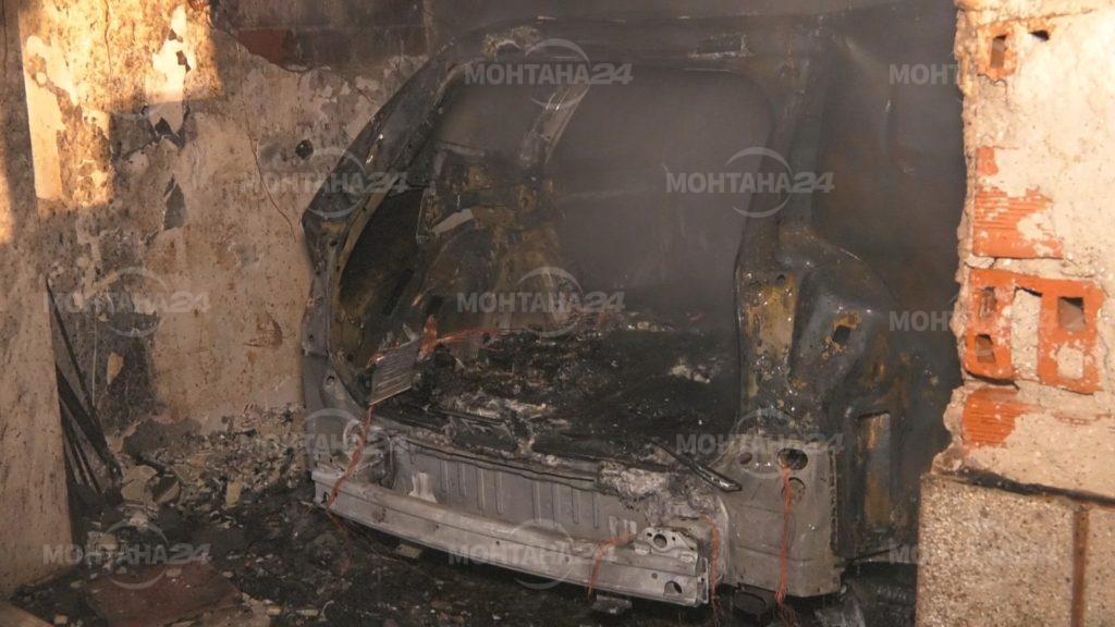 Бомба избухна в гараж на монтански блок