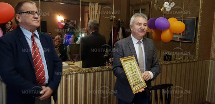 Златко Живков получи наградата на Съюза на българските писатели